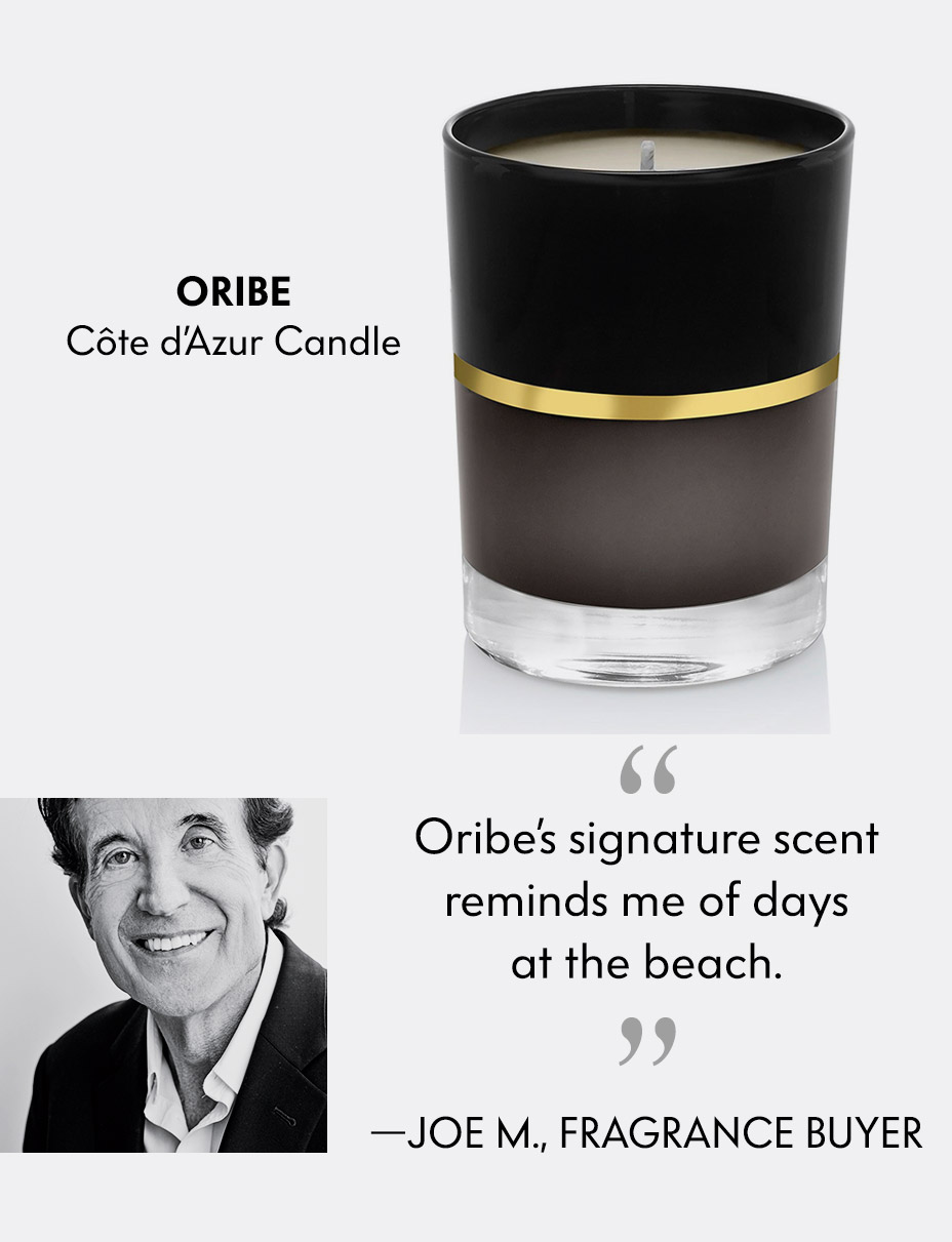 Oribe C??te d'Azur Scented Candle - Oribe's signature scent reminds me of days at the beach.