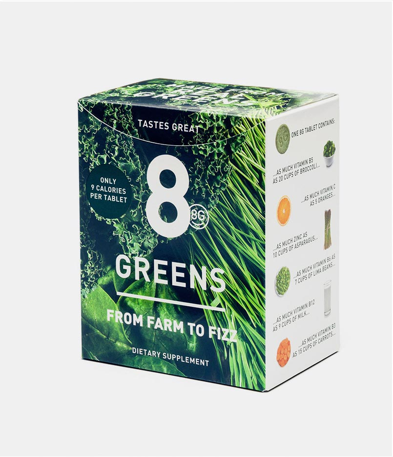 8 Greens Essential Greens Booster