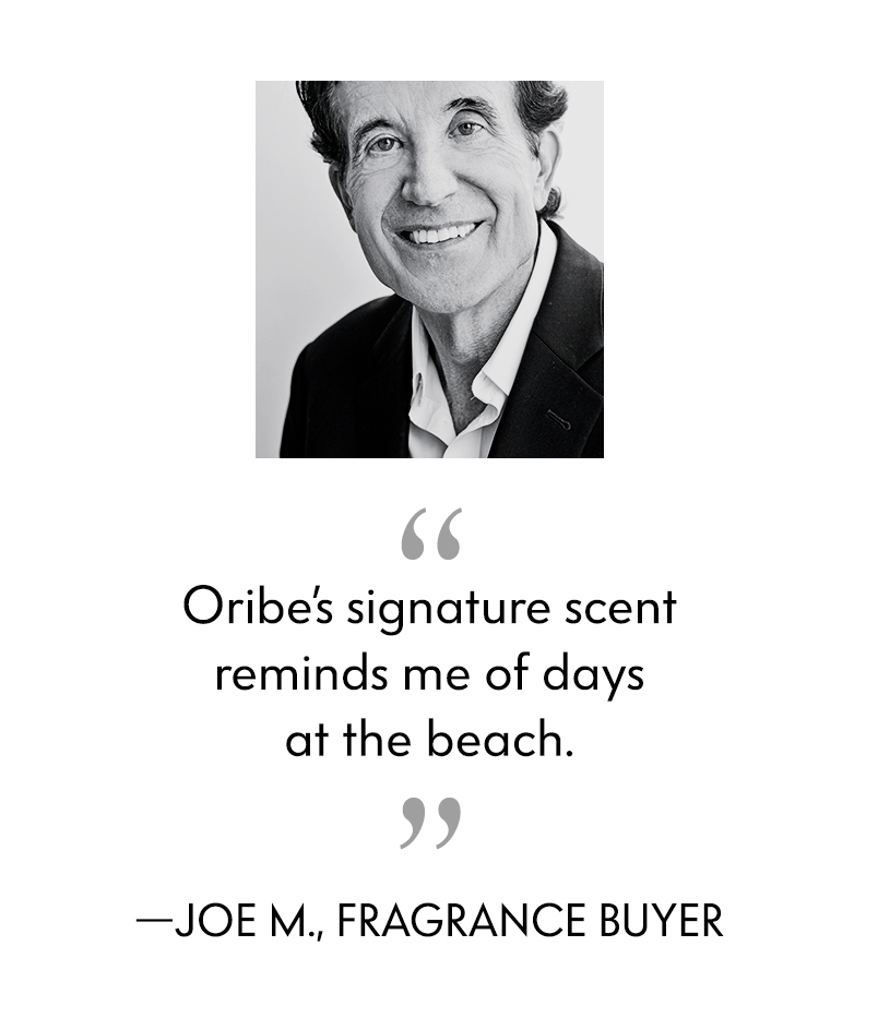 Oribe's signature scent reminds me of days at the beach.