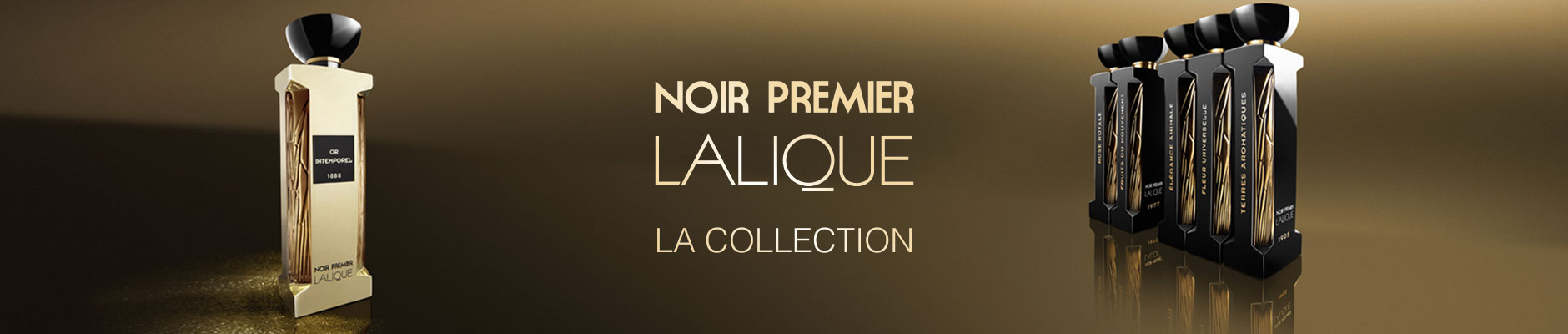 Noir Premier Lalique, LA Collection