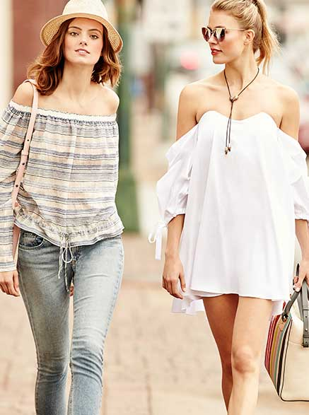 Off-Shoulder Styles