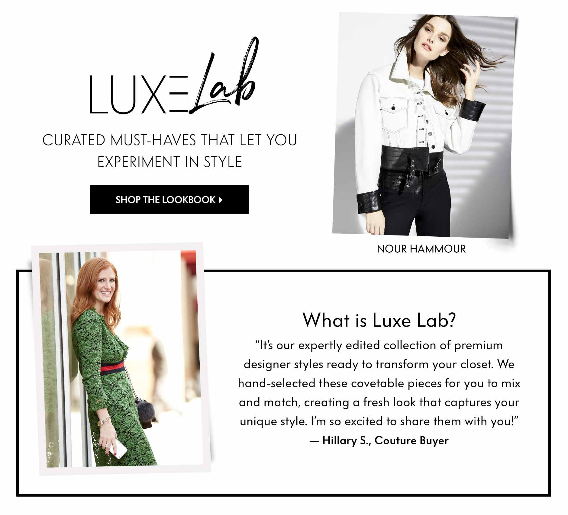 Luxe Lab - Curated, must-haves that let you experiment in style
