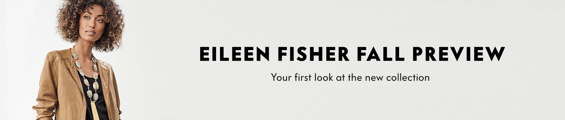 Eileen Fisher Fall Preview - Your first look at the new collection