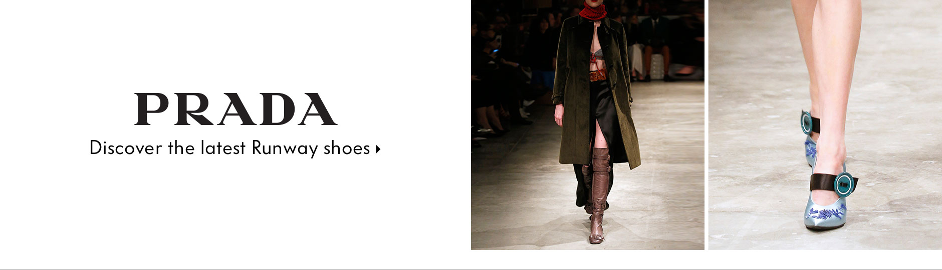 Prada - Discover the latest Runway shoes