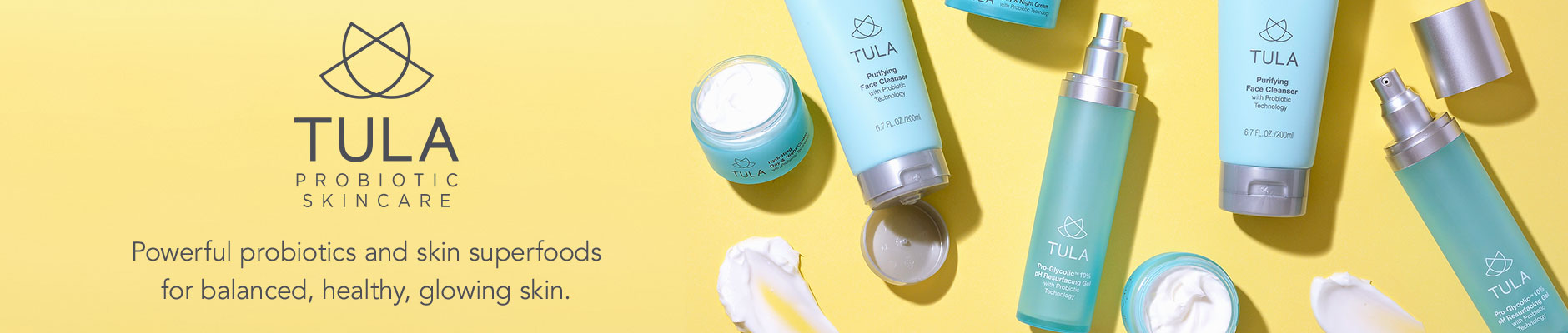 Tula: Probiotic Skincare - Powerful probiotics and skin superfoods for balanced, healthy, glowing skin.
