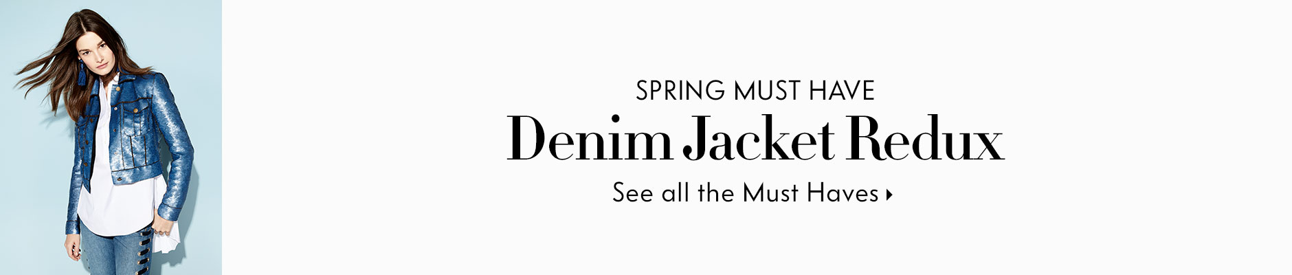 Spring Must Have Denim Jacket Redux - See all the Must Haves