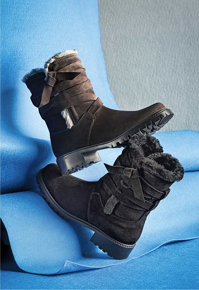 Snowfield Faux-Fur Suede Boot