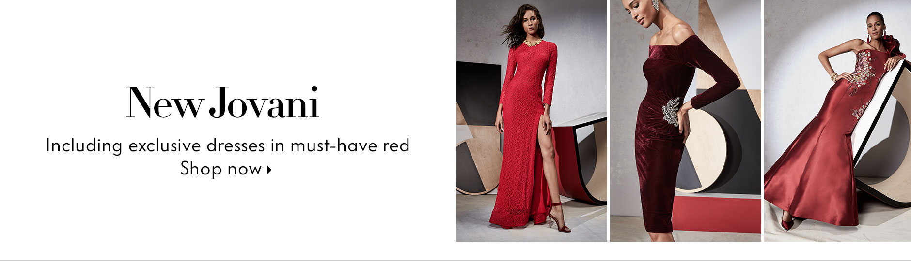 Jovani Red Lookbook
