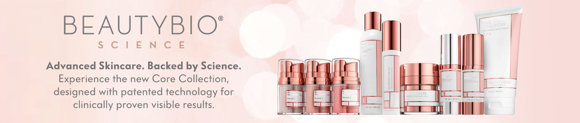 Beautybio science - advanced skin care backed by anti-aging technology