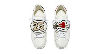 Gucci - New Ace Number 25 Sneaker