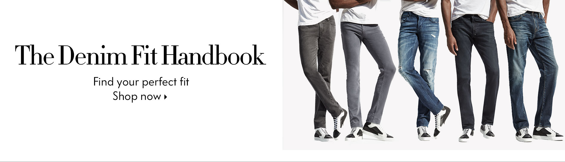 Mens Denim Fit Lookbook