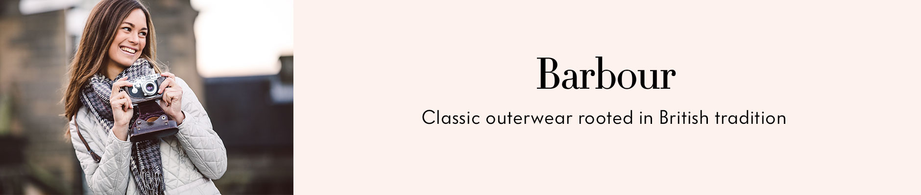 Barbour - Classic outerwear rooted in British tradition