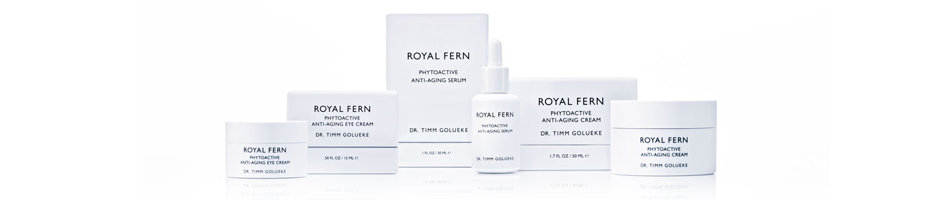 Royal Fern phytoactive anti-aging serum