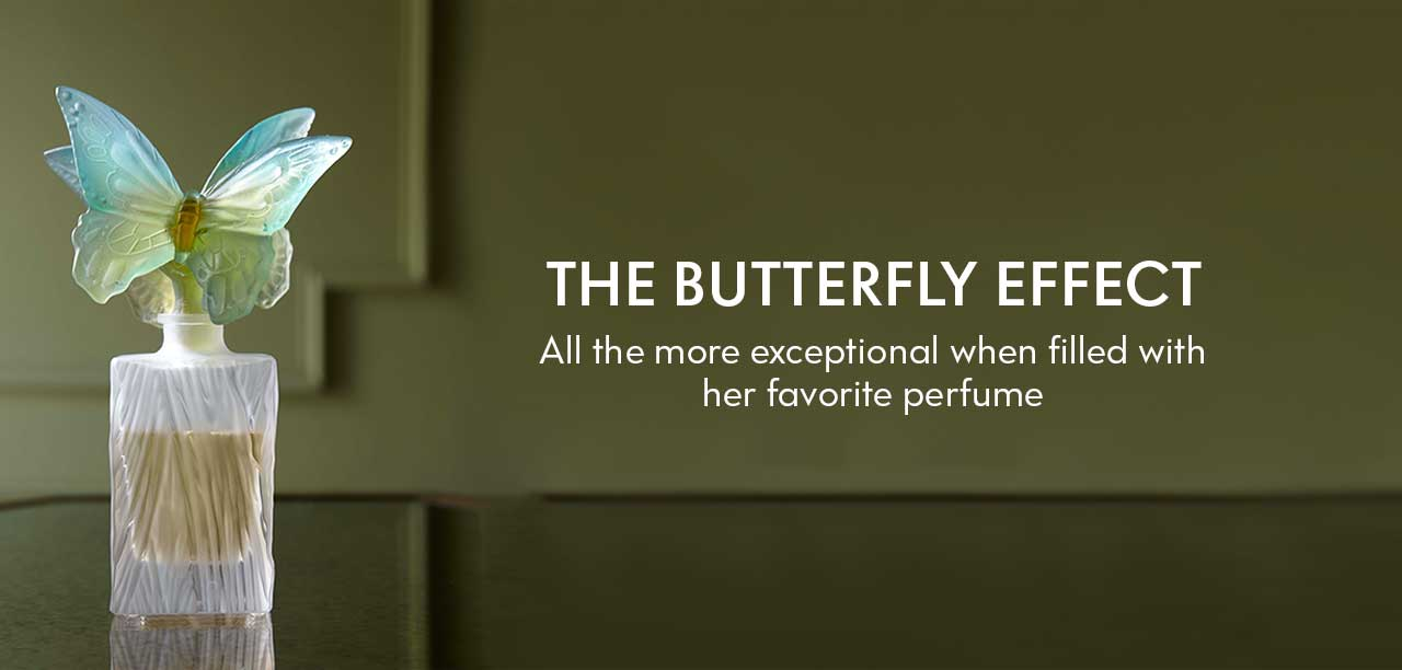 The Butterfly Effect - All the more exceptional when filled with her favorite perfume