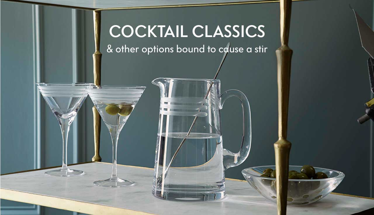 Cocktail Classics - & other options bound to cause a stir