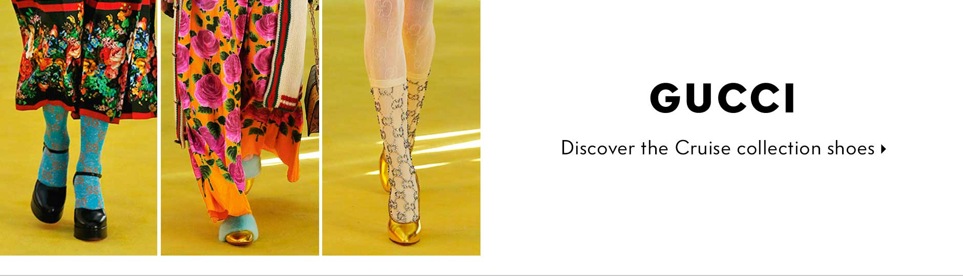 Gucci - Discover the Cruise collection shoes