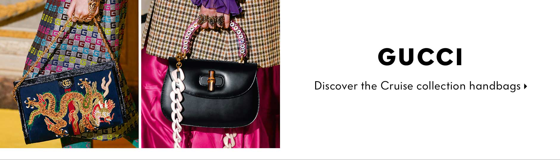 Gucci - Discover the Cruise collection handbags