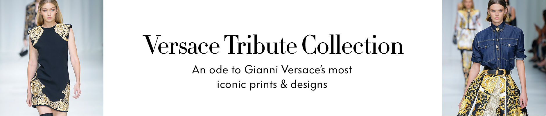 Versace Tribute Collection - An ode to Gianni Versace's most iconic prints & designs