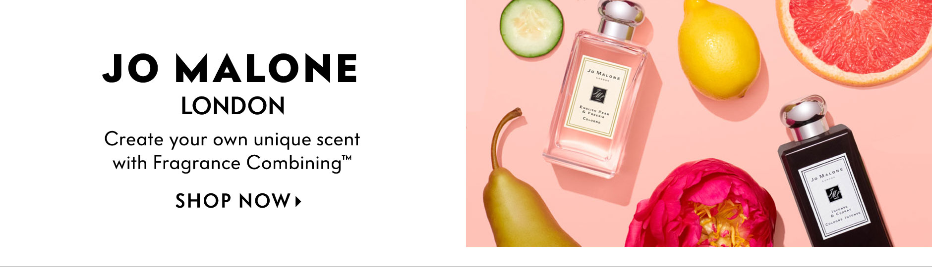 Jo Malone London - Create your own unique scent with Fragrance Combining