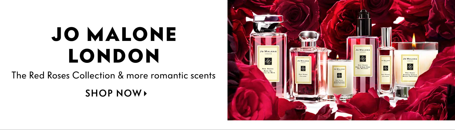 Jo Malone London - the red roses collection & more romantic scents