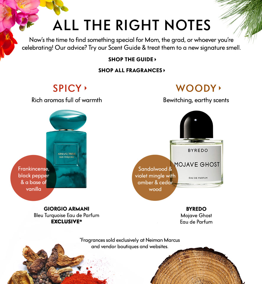 May Beauty Cue in Magazine at Neiman Marcus