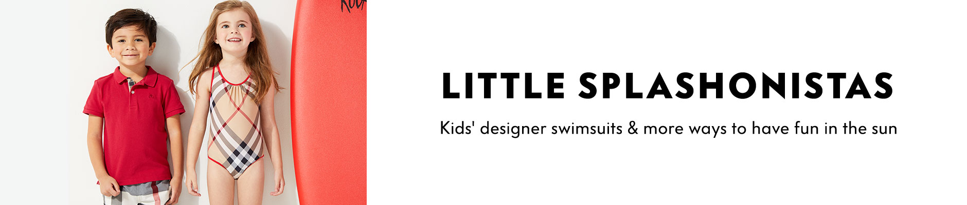 Little Splashonistas, kids' designer swimsuits & more ways to have fun in the sun