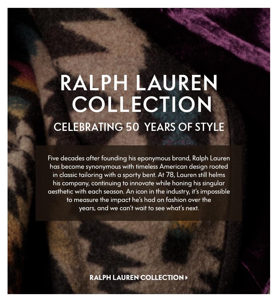bf4897b0a94165 Ralph Lauren 50th Anniversary in Magazine at Neiman Marcus