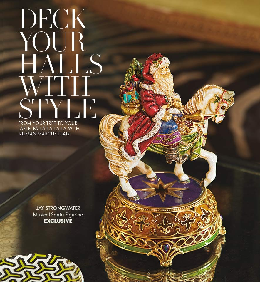 Home Decor In Magazine At Neiman Marcus