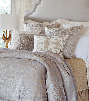 Lili Alessandra King Reversible Quilted Coverlet