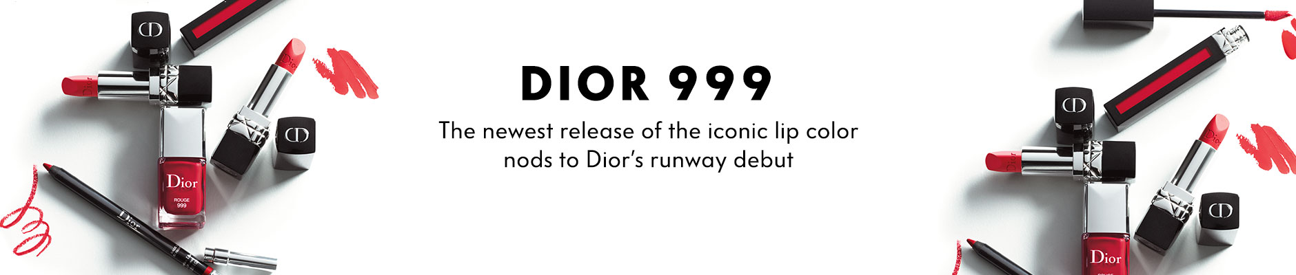 Dior 999, the newest release of the iconic lip color nods to Dior's runway debut, shop now
