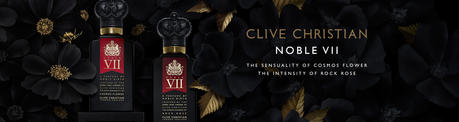 Clive Christian: Noble VII - The sensuality of cosmos flower, The intensity of rock rose