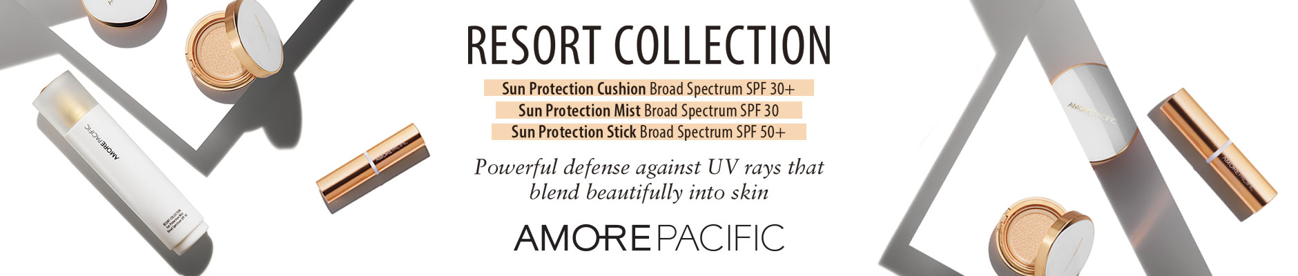 Resort Collection: Powerful defense against UV rays that blend beautifully into skin - Amore Pacific