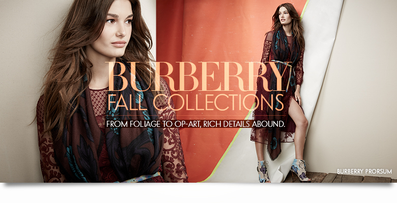 Burberry Women's Fall Collections