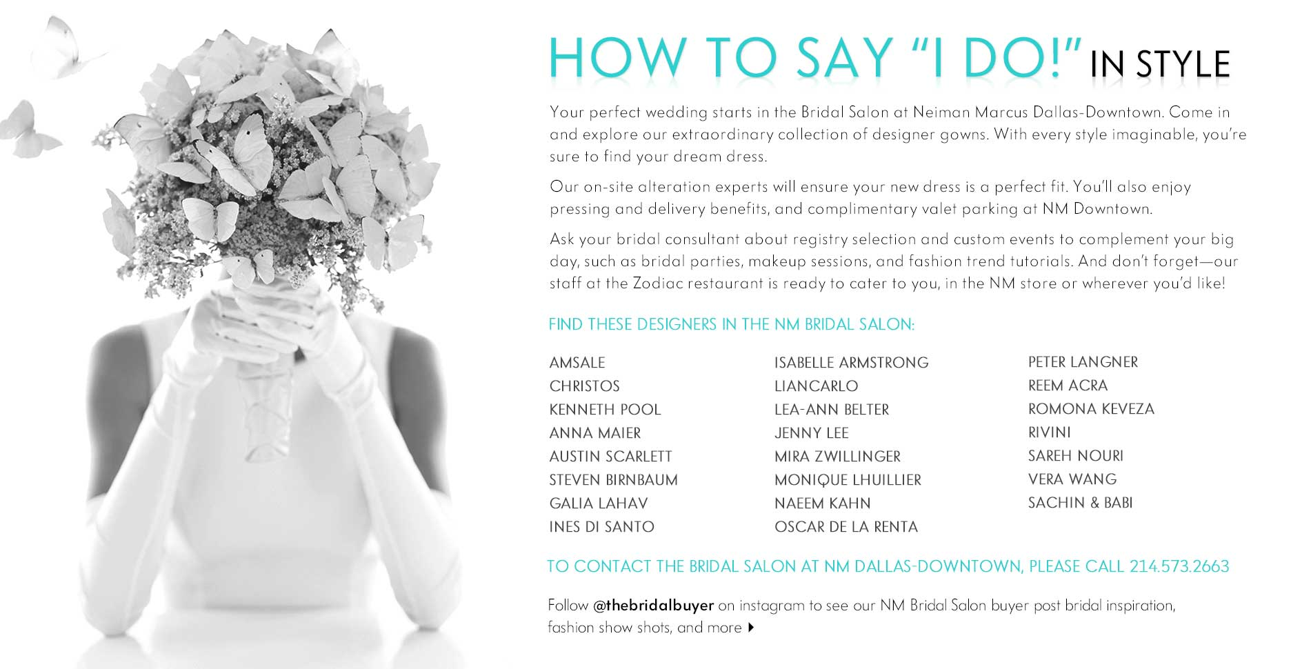 How to say 'I do' in style