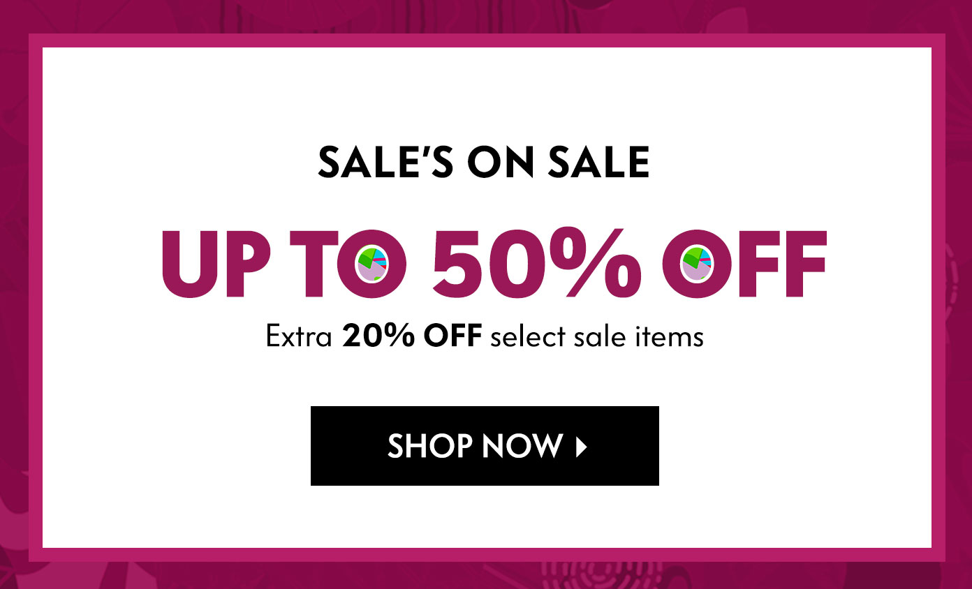 Up to 50% off - Sale's On Sale
