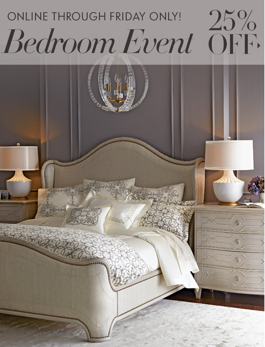 Bedroom Event: 25% off