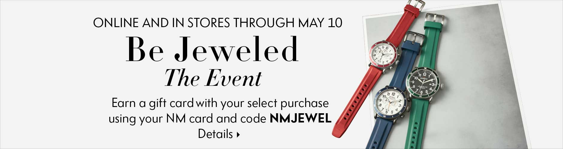 Be Jeweled Gift Card Event!