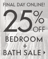 Bedroom & Bath Sale