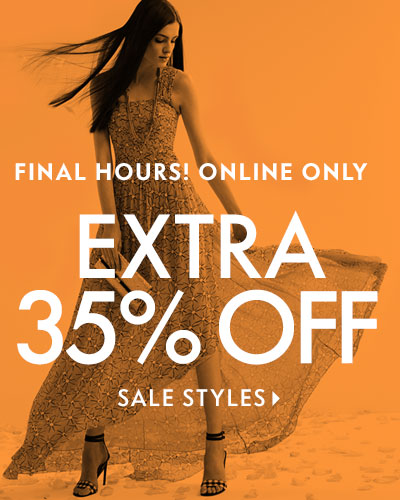 Final Hours! Extra 35% Off Sale