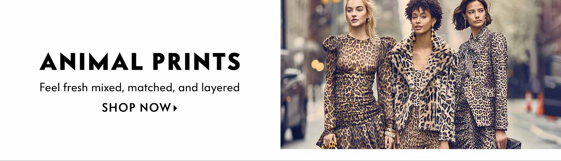 Animal Prints - Feel fresh mixed, matched, and layered