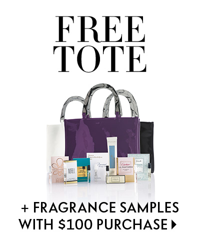 The Gift of Beauty - Free exclusive tote + fragrance samples with purchase - Shop now