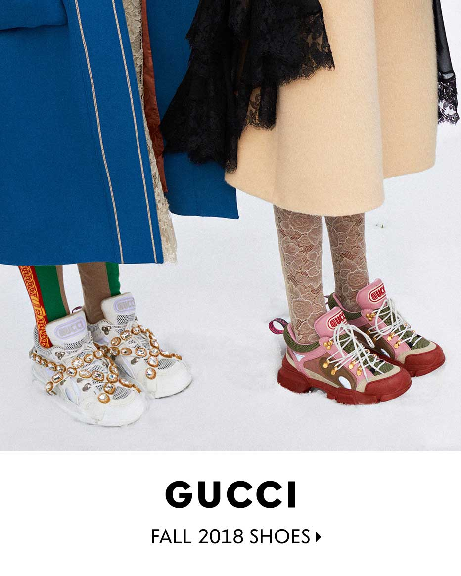 Gucci - Fall 2018 Shoes
