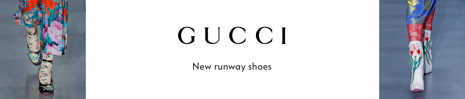 Gucci - New runway shoes