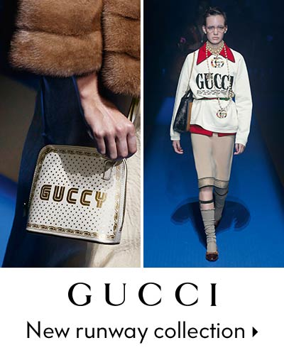Gucci - New runway collection