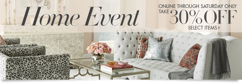 Home Event 30% OFF Select Items + Free Express International Shipping On Orders $100 at NeimanMarcus.com