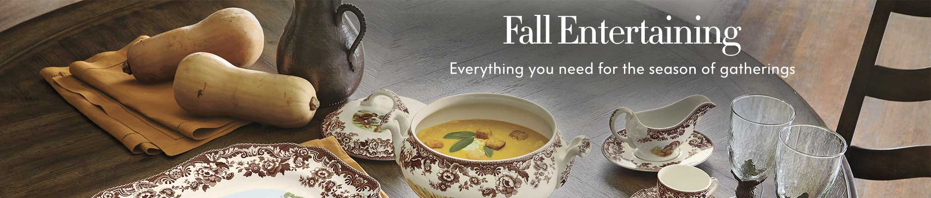 Fall Entertaining - Everything you need for the season of gatherings