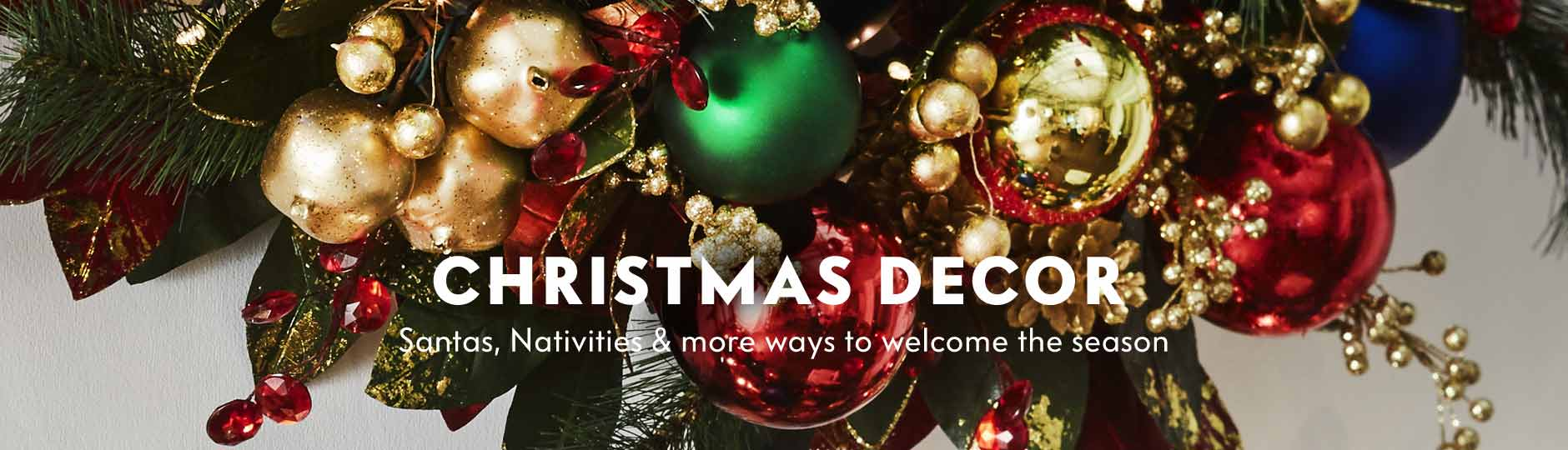Christmas Decor - Santas, Nativities & more ways to welcome the season