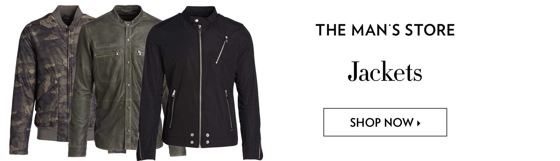 The Man's Store - Jackets