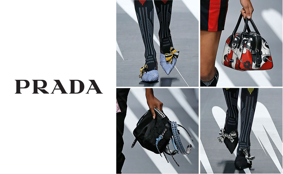 Prada Bags Footwear Eyewear More At Neiman Marcus