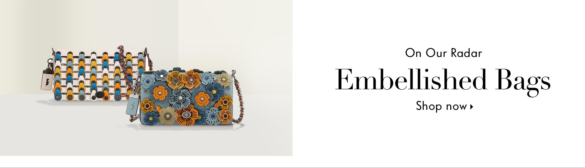 Pre-Fall 2017 - On our radar: Embellished bags